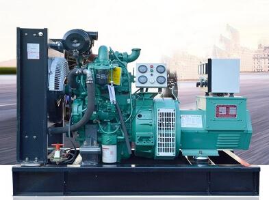 池州全新上柴50kw大型柴油发电机组