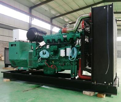 池州迎江县泰豪500kw大型柴油发电机组