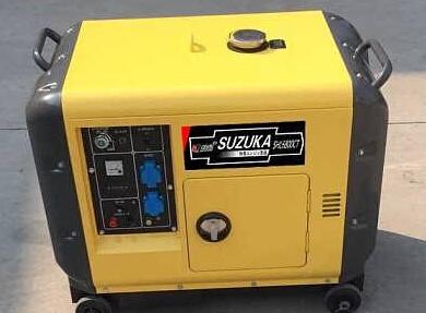 池州二手玉柴5kw小型柴油发电机