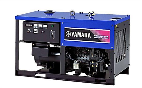 池州二手雅马哈12kw小型柴油发电机组