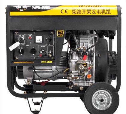 池州贵池二手上柴5kw小型柴油发电机