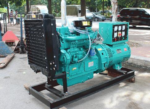 池州青阳本田30kw小型柴油发电机组